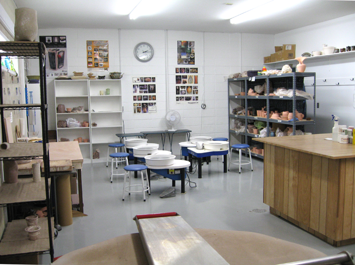 how to build a pottery studio